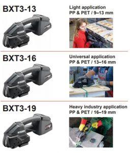 Battery banding tool Signoce BXT3 range