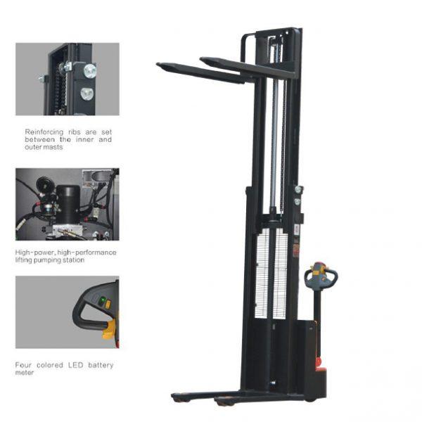 Electric-stacker-3500mm-350cm-1500kg-cheap